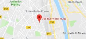 Adresse de l'agence de Rouen